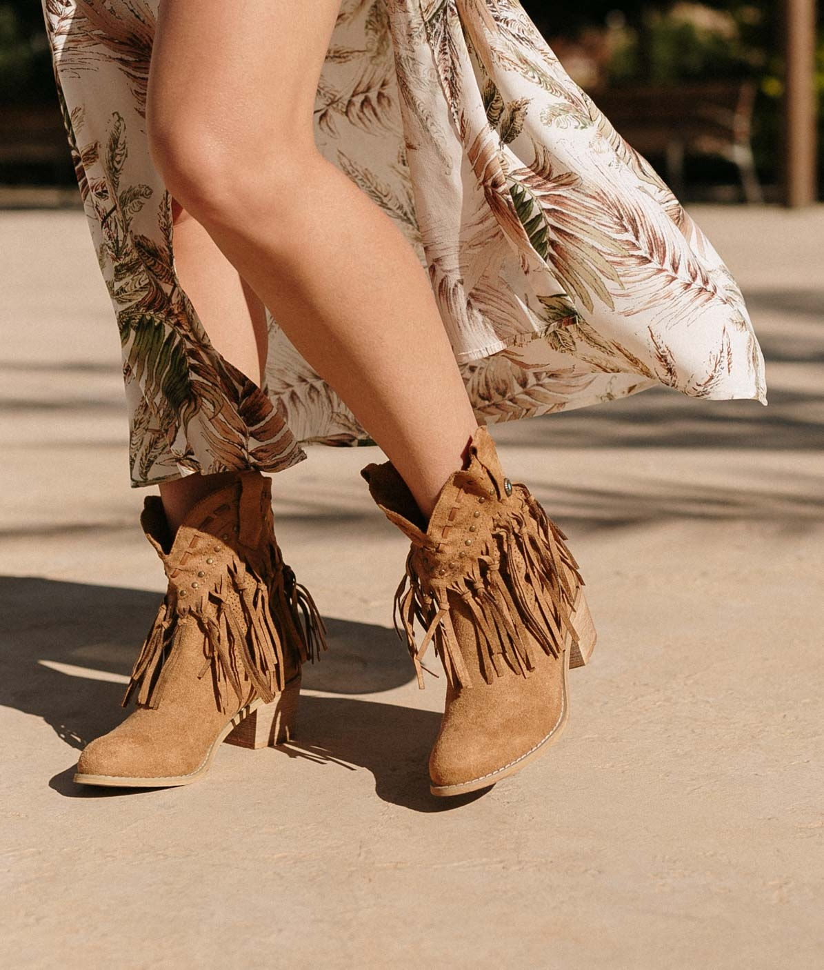 Low Boot Tacoe - Camel