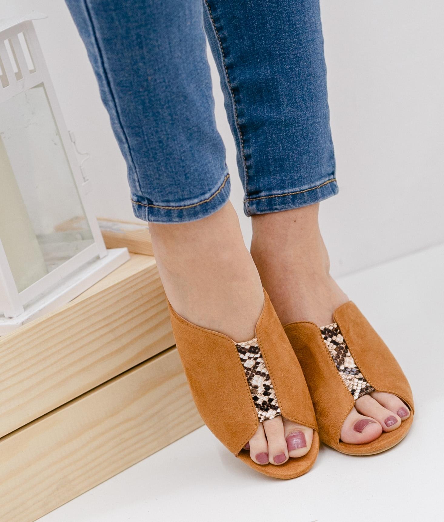 Zapato Mule Brinca - Negro