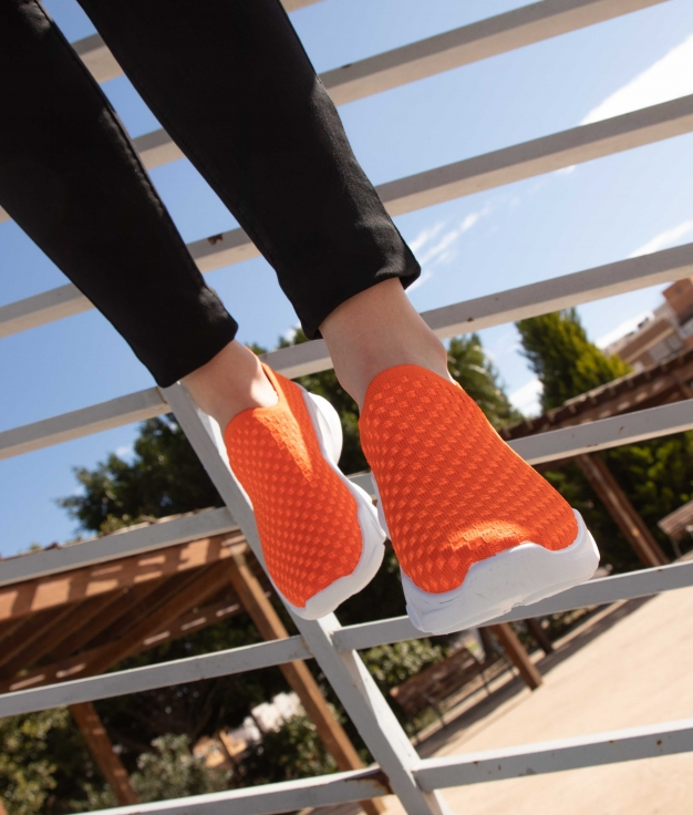 Sneakers Pelton - Laranja