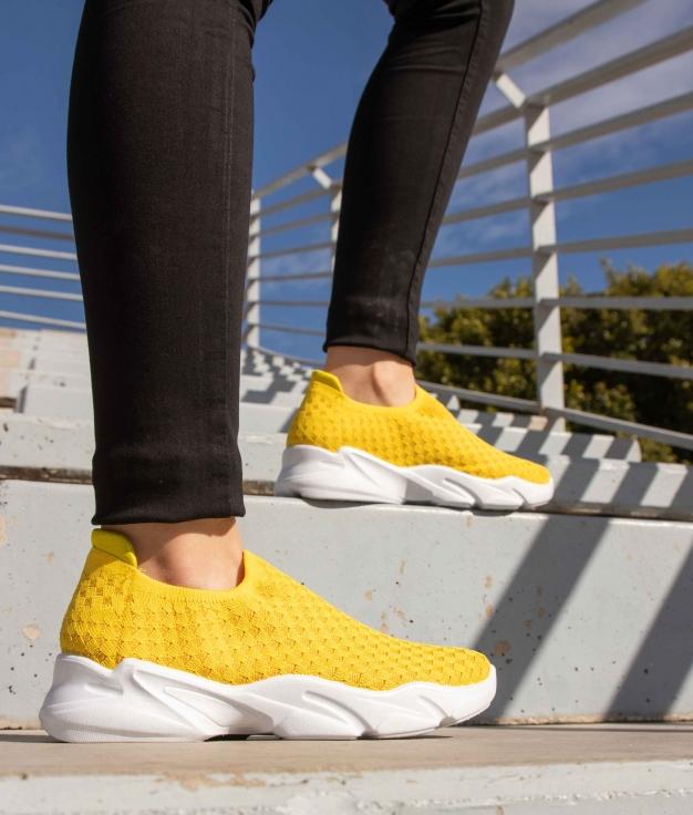 Sneakers Pelton - Amarillo