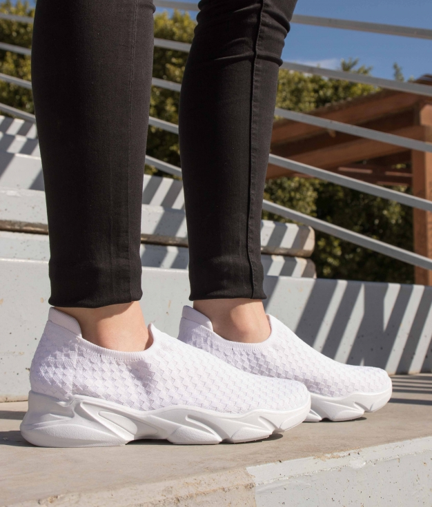 Sneakers Pelton - Bianco
