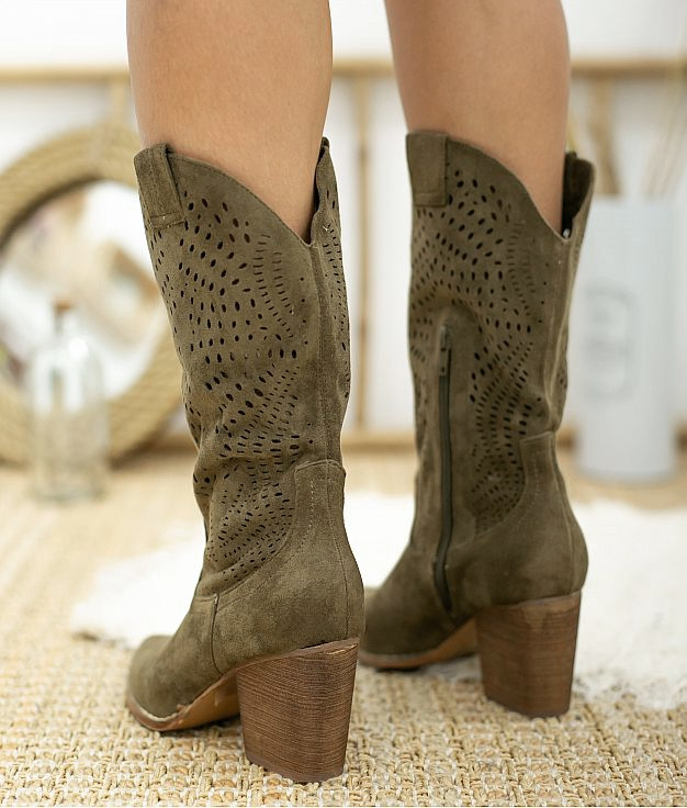 Knee-length Boot Bolane - Green