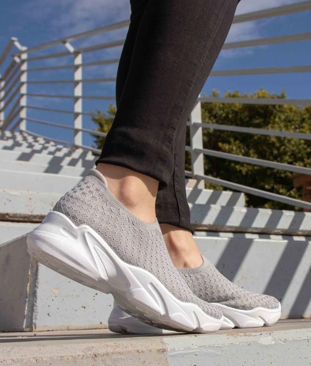 Sneakers Pelton - Cinza