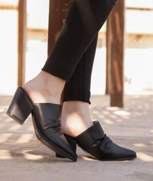 Zapato Mulé Karey - Black