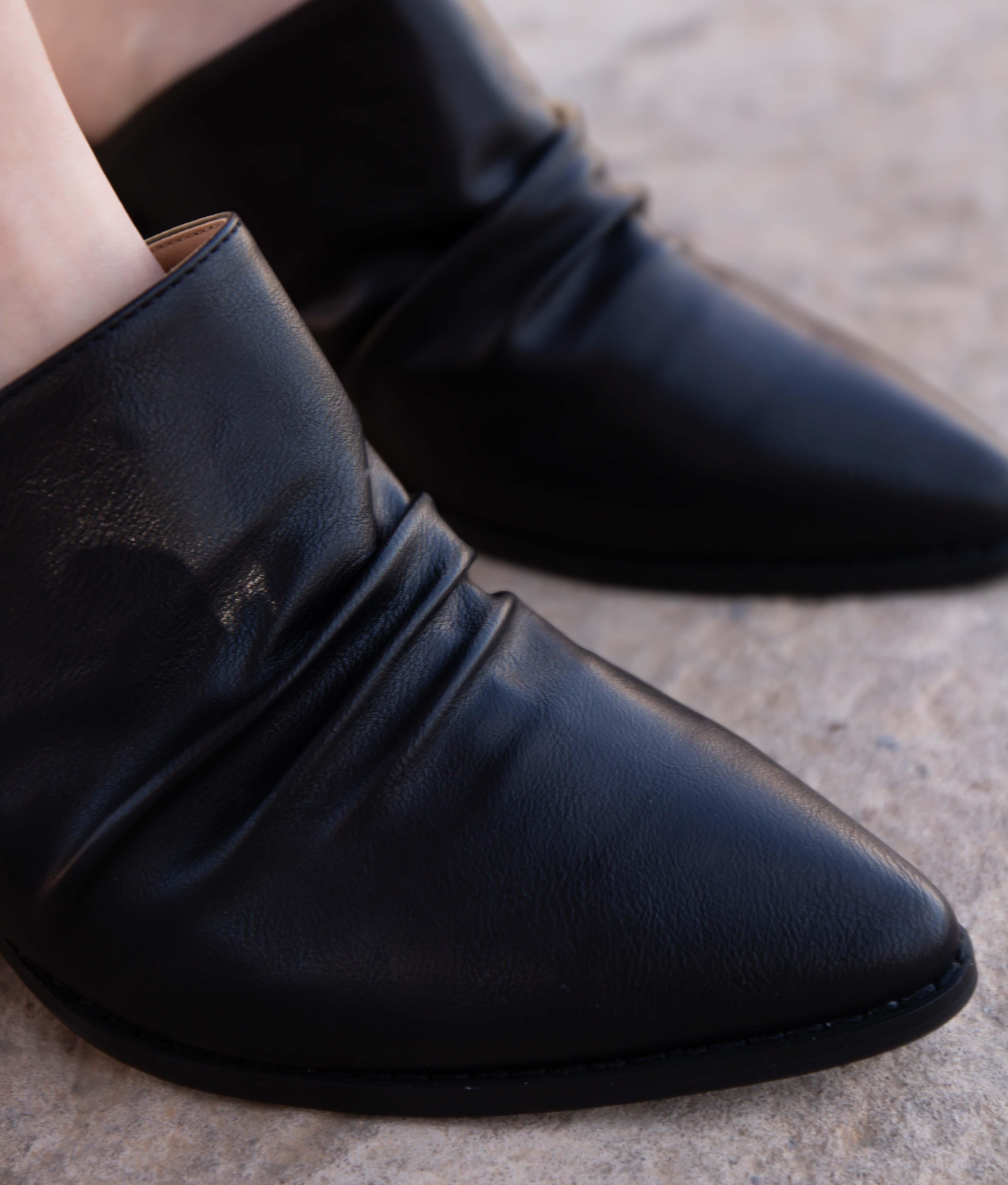 Zapato Mule Karey - Noir