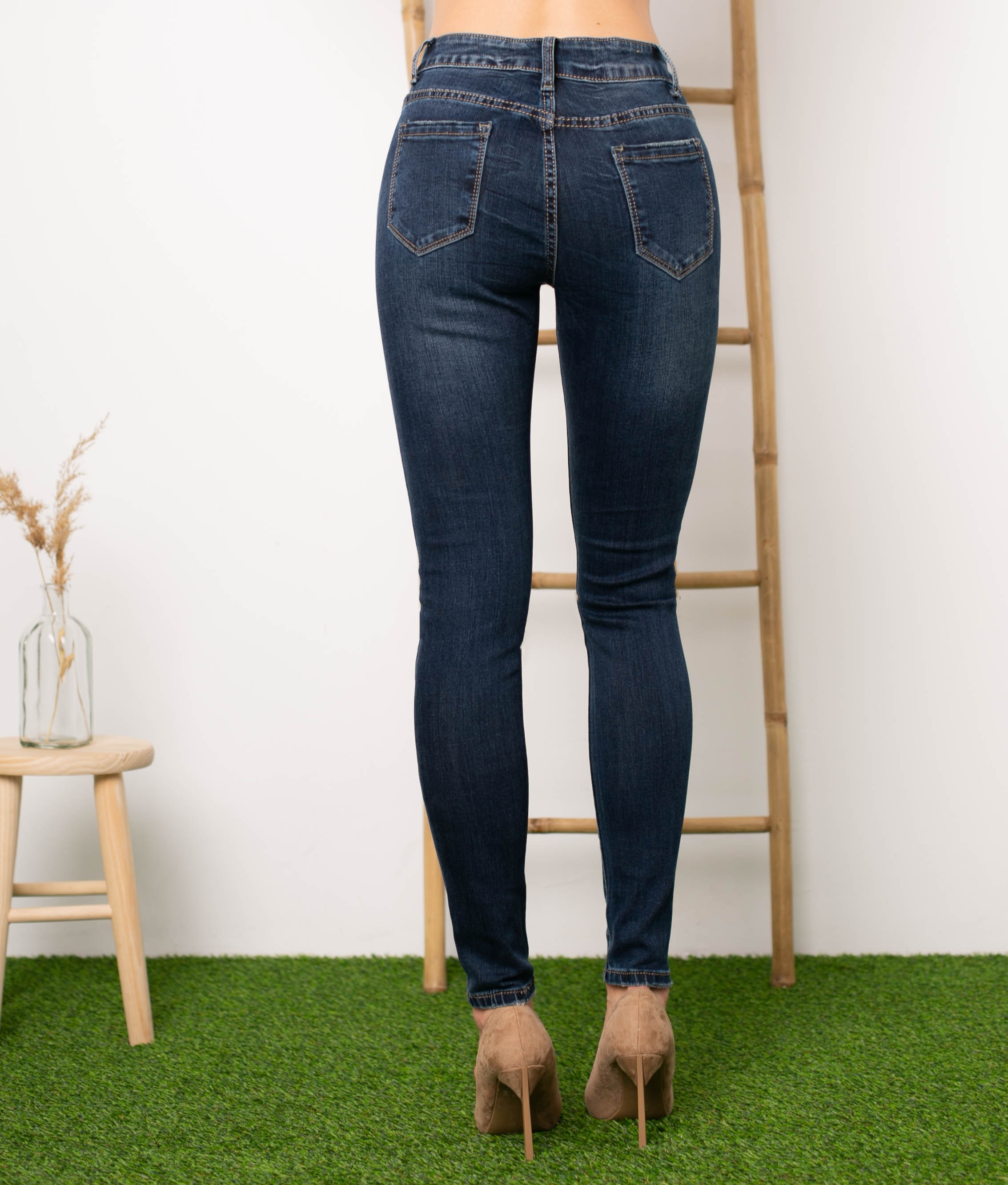 Pantaloni Hada - Denim Scuro