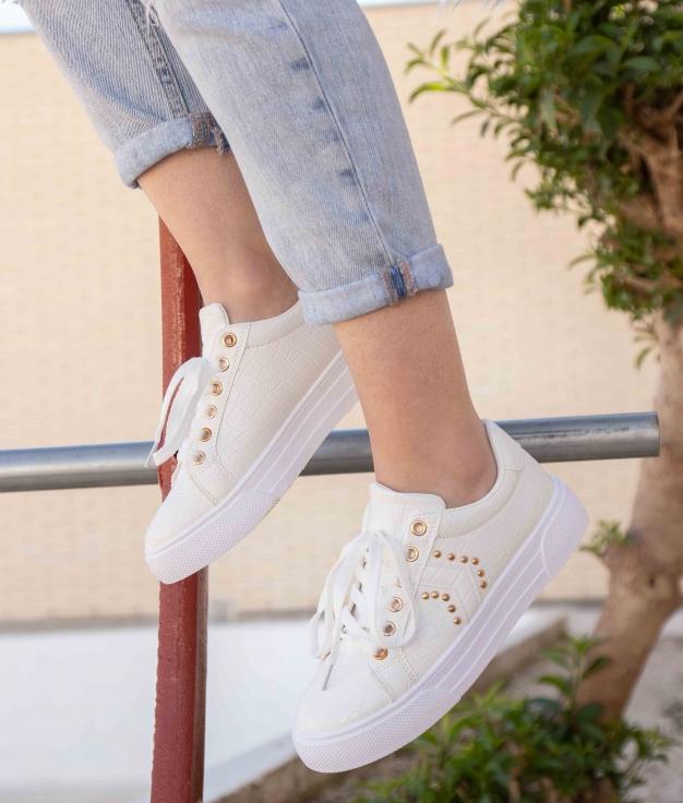 Sneakers Ukun - Bianco
