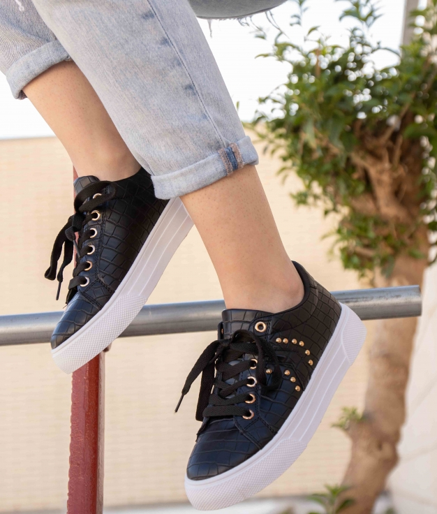 Sneakers Ukun - Nero