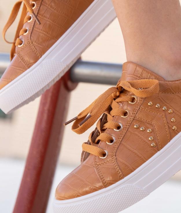 Sneakers Ukun - Camello