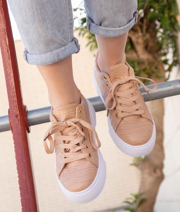 Sneakers Ukun - Nude
