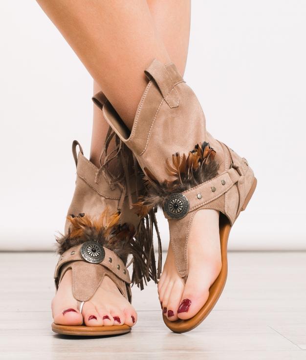 Sandale Reiki - Kaki