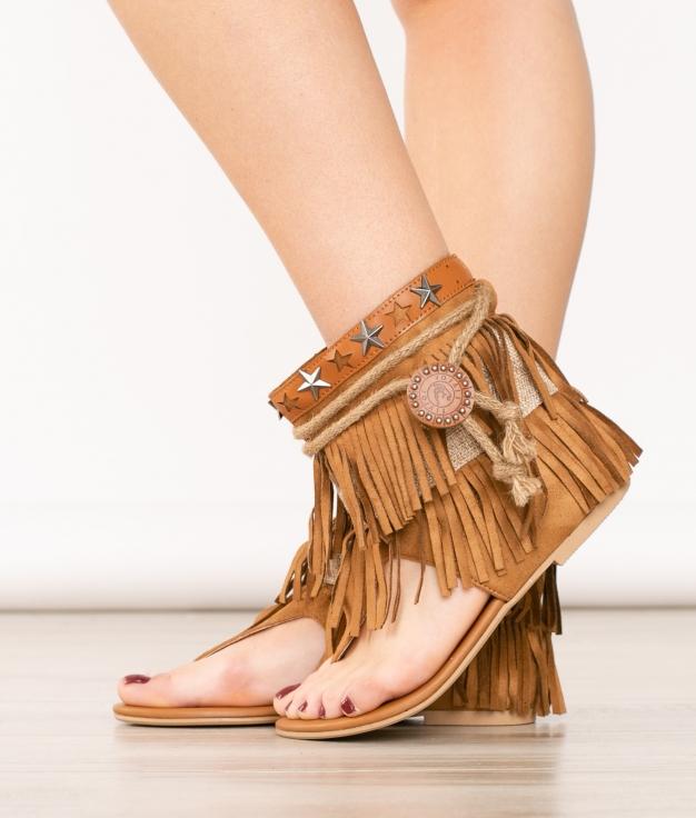 Sandalia Dakani - Camel