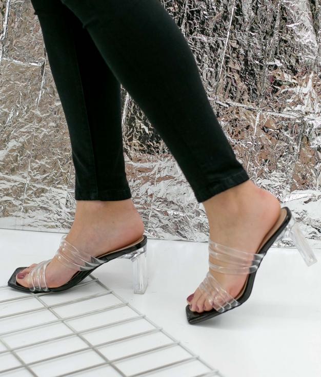 Sandalia de Tacón Lopak - Negro