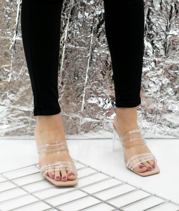Sandalo Alto Lopak - Nude