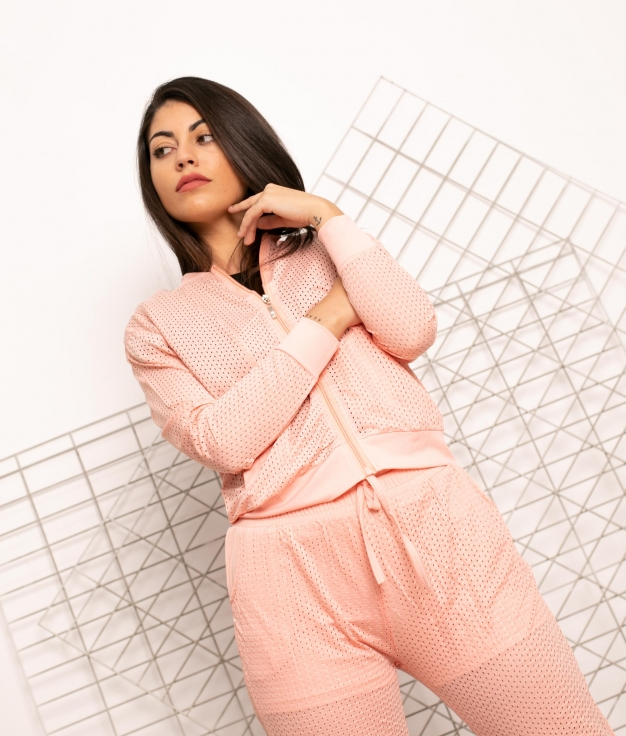 Jaqueta Ondry - Rosa