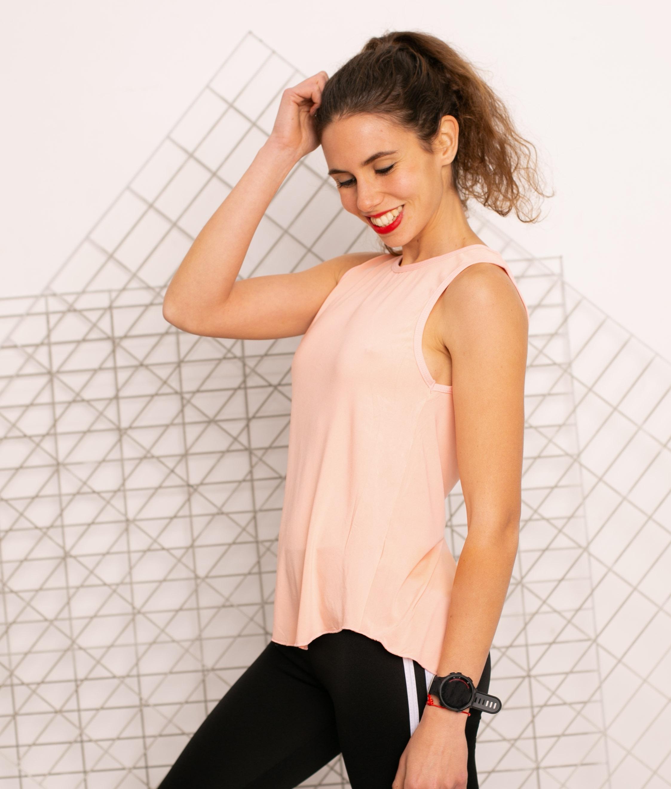 T-shirt Mahi - Rose