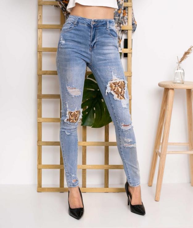 Trousers Aungo - Denim