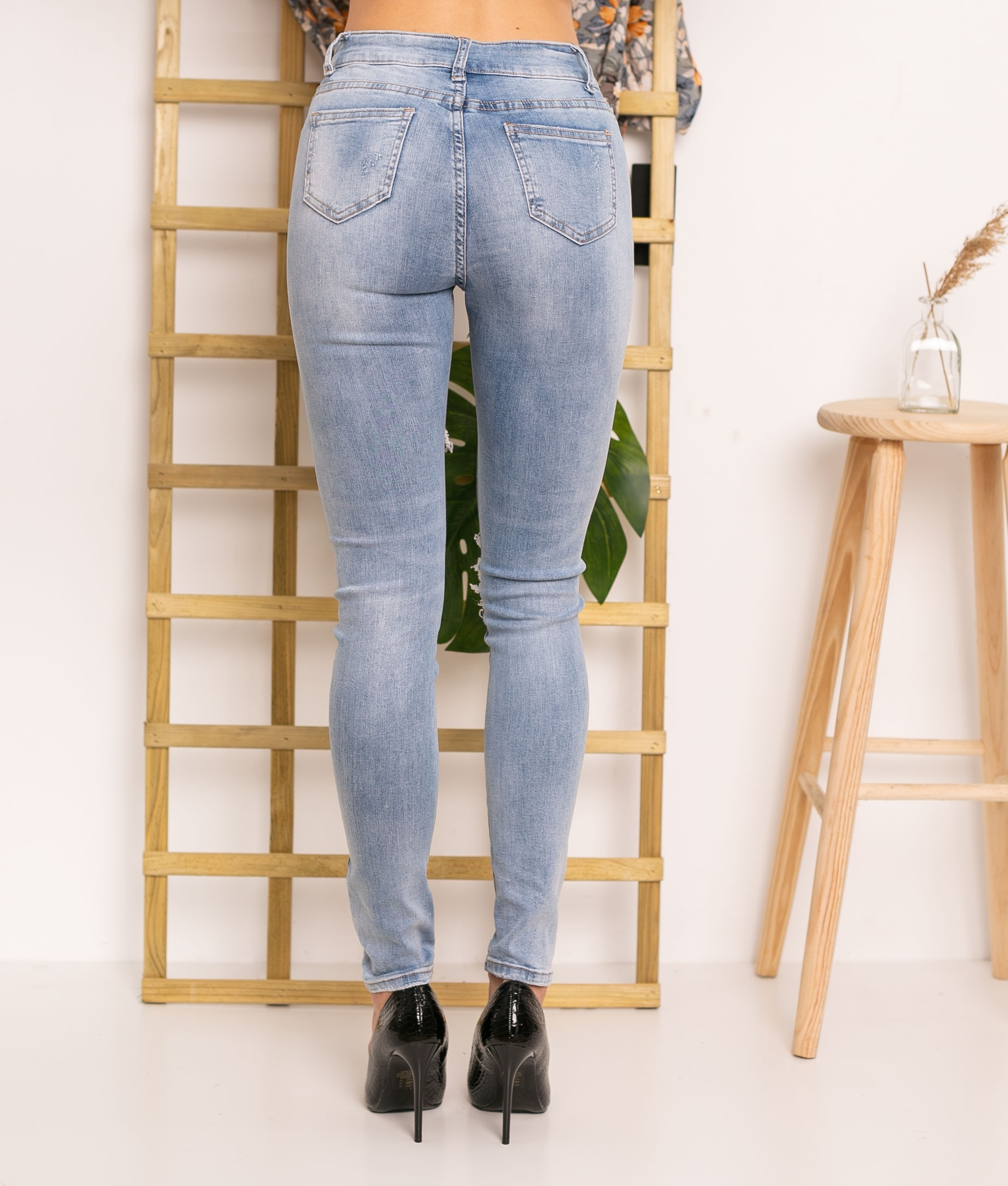 Pantaloni Aungo - Denim
