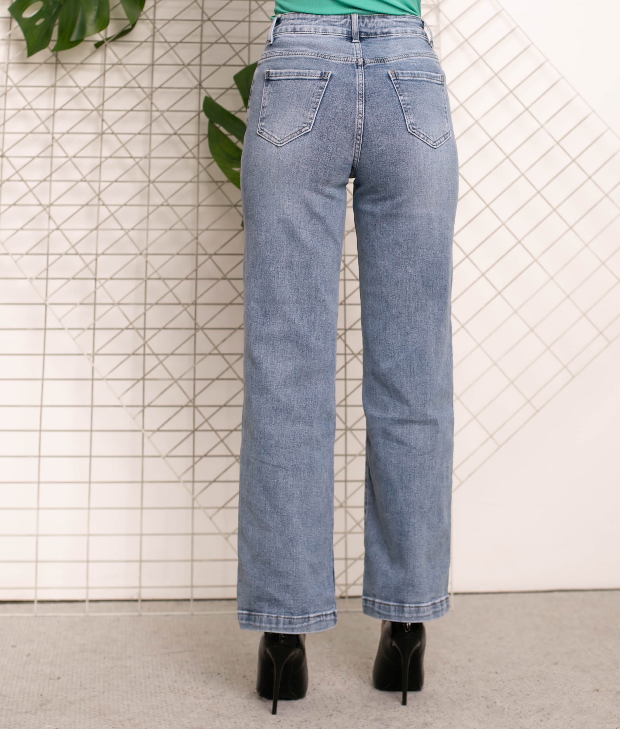 Pantalón Yange - Denim