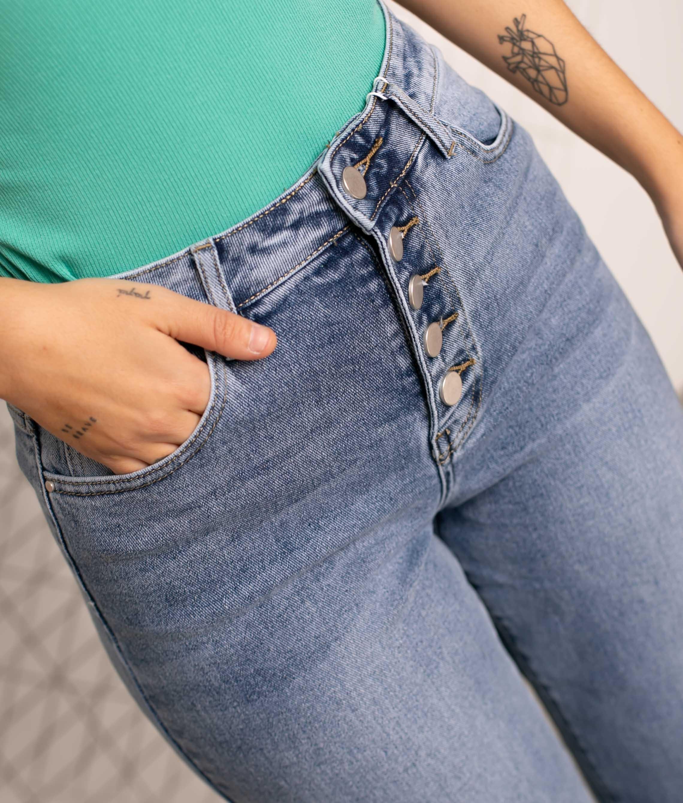 Pantaloni Yange - Denim