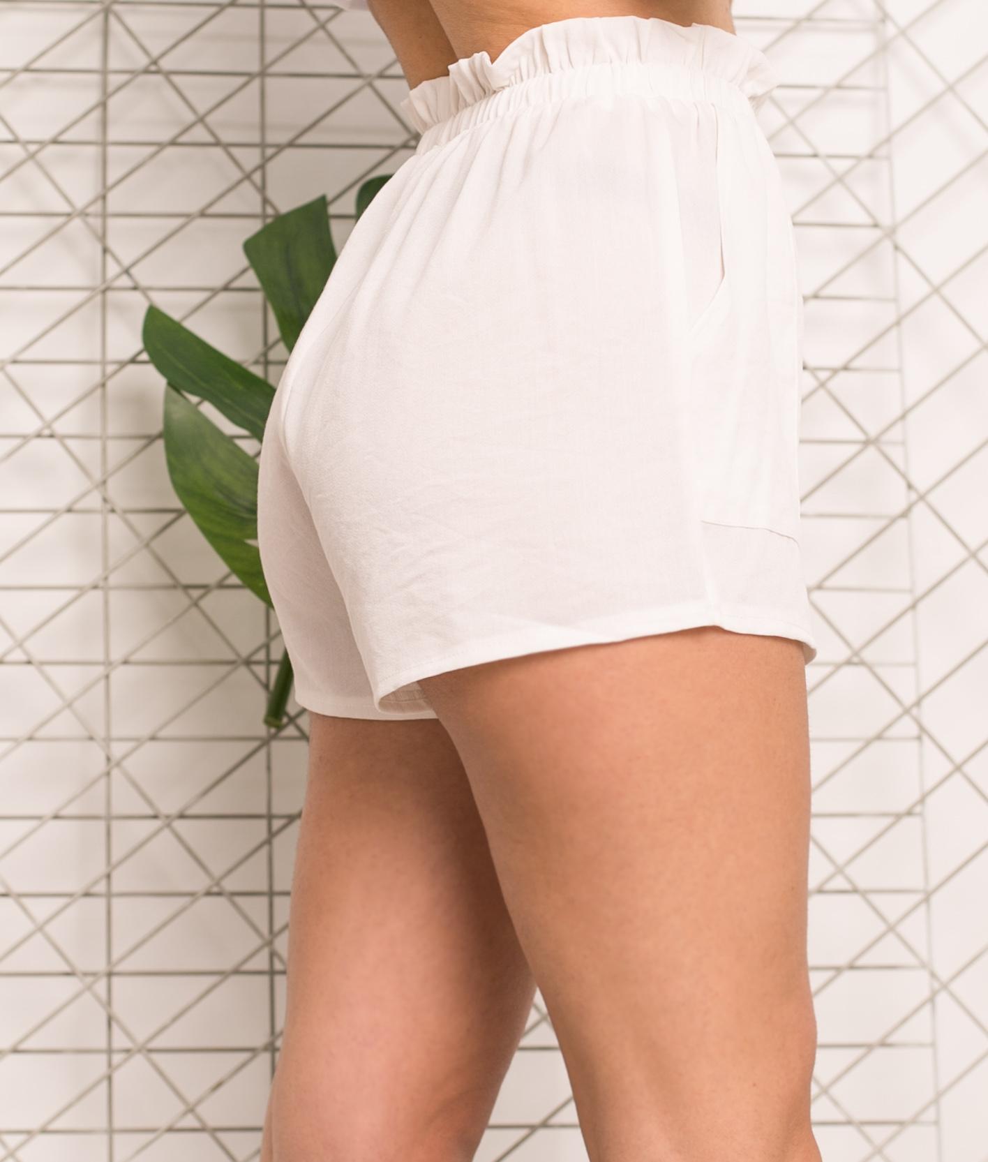 Short Milase - Bianco