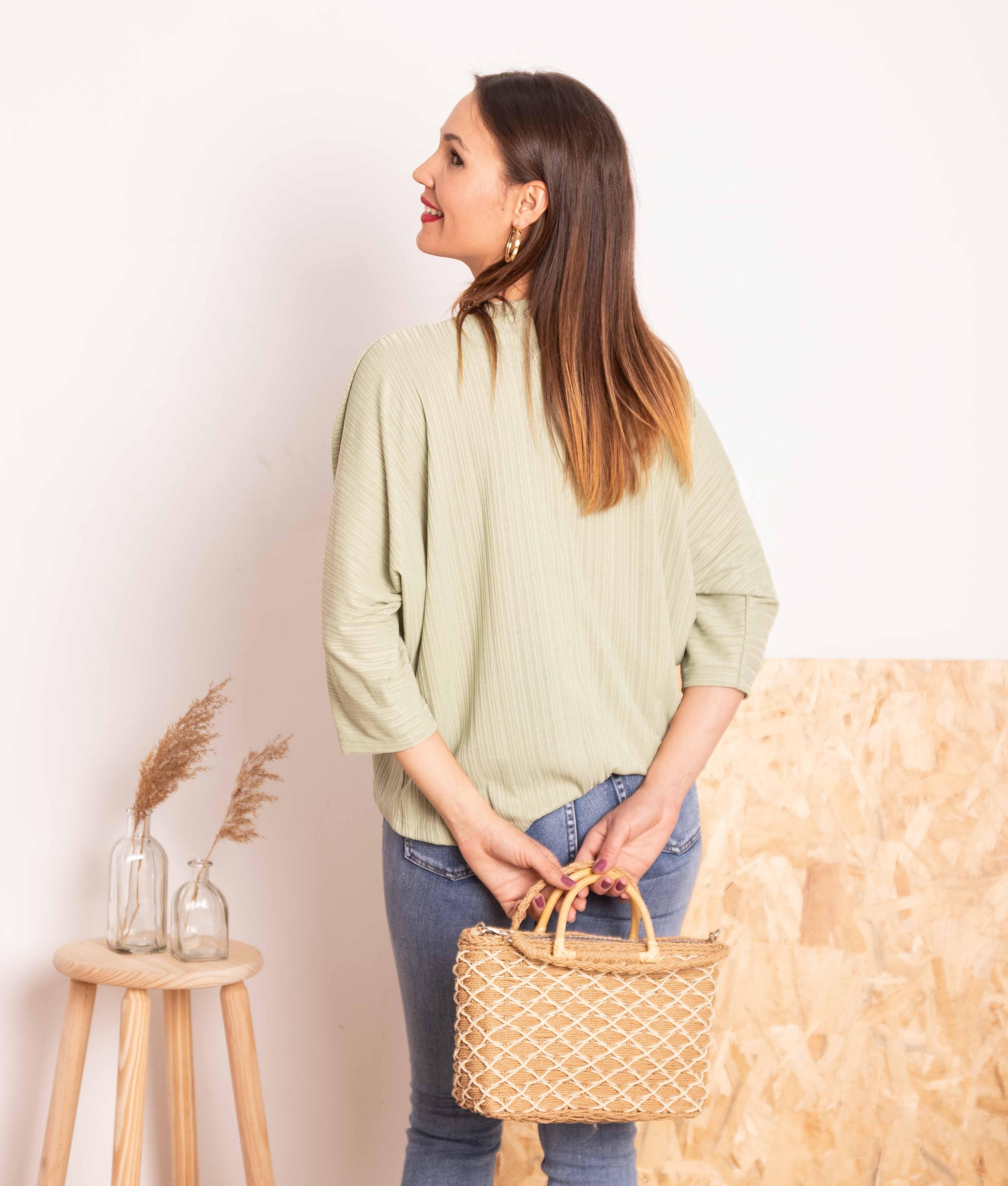 Camiseta Bentis - Água-marinha