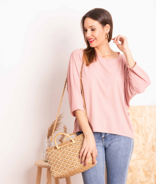 Camiseta Bentis - Rosa