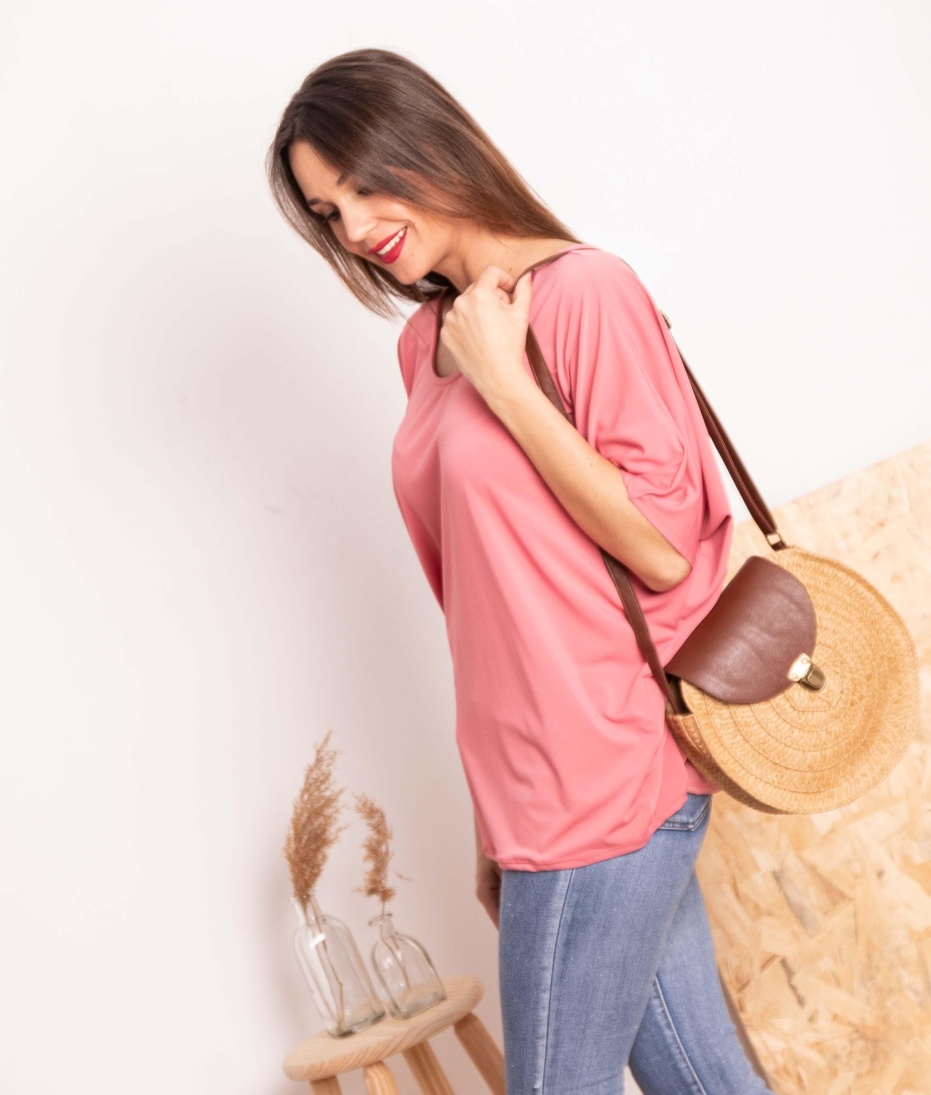 Camiseta Pender - Rosa