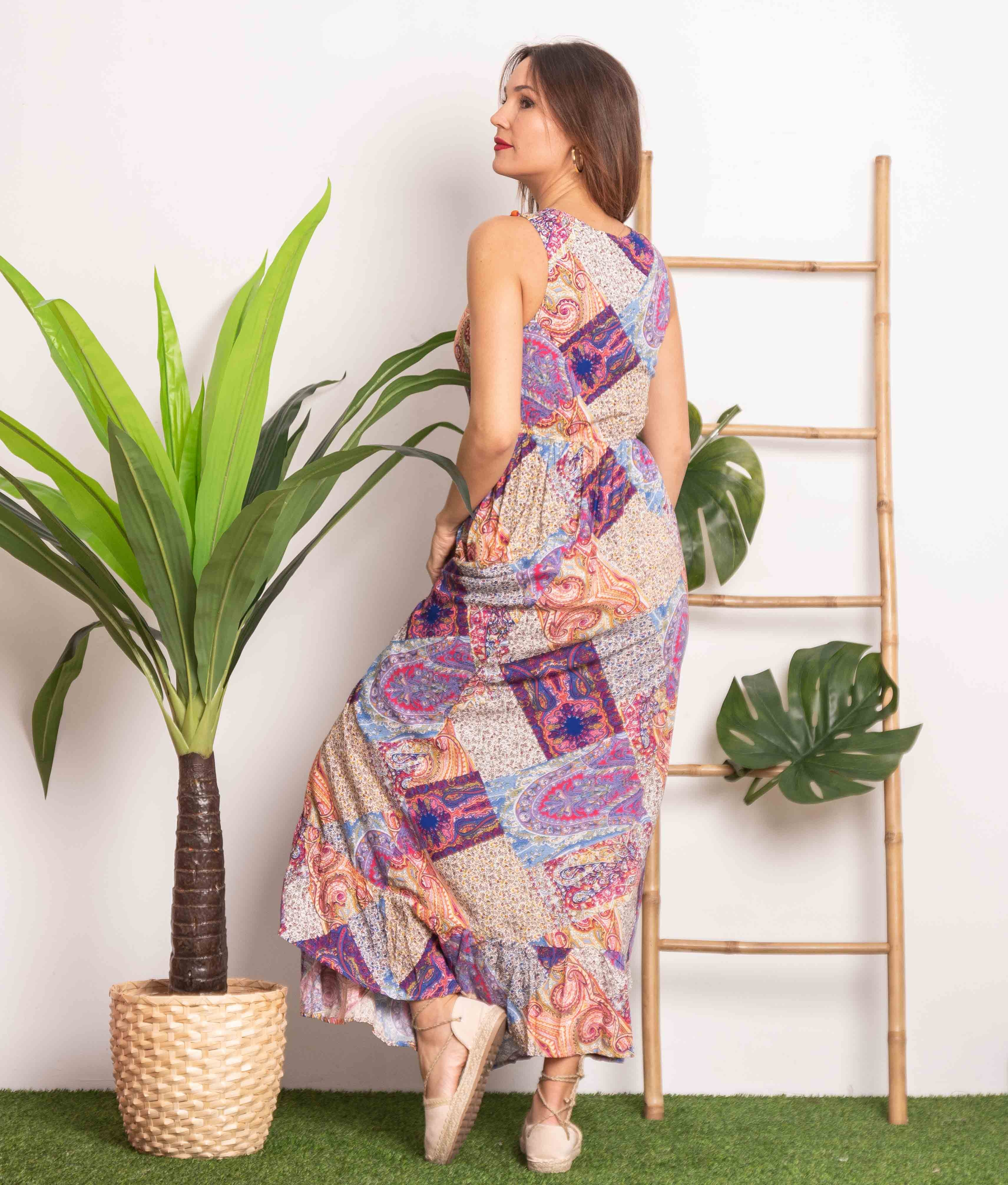 Vestido Rina - Multicolor