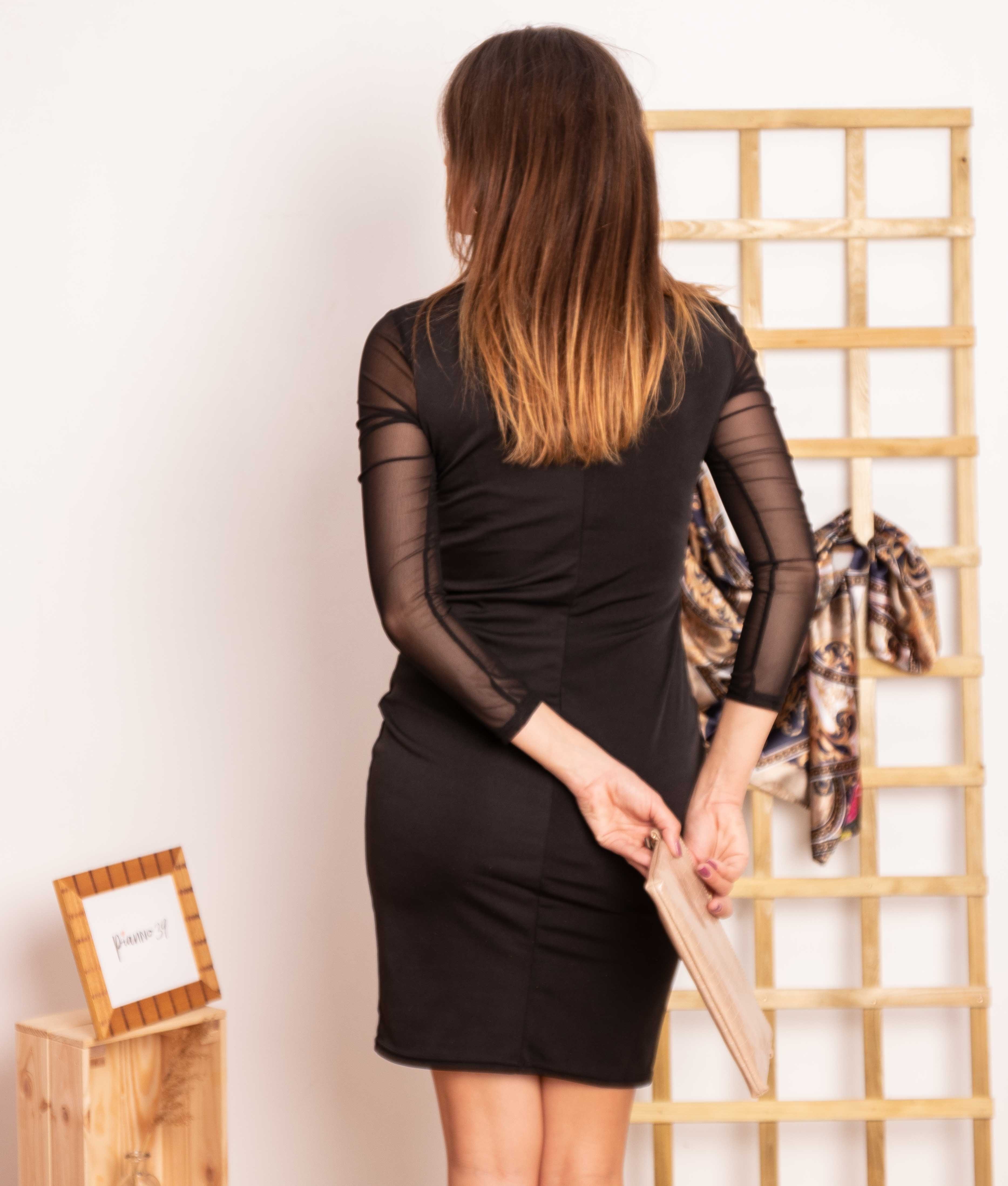 Vestido Soluna - Black