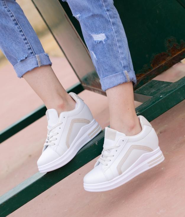 Sneakers Gorete - Bege