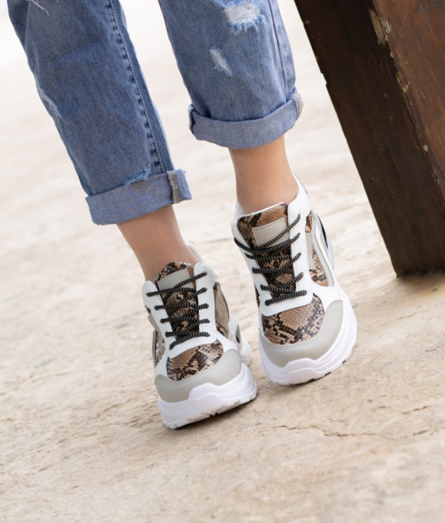 Sneakers Tranes - Bianco