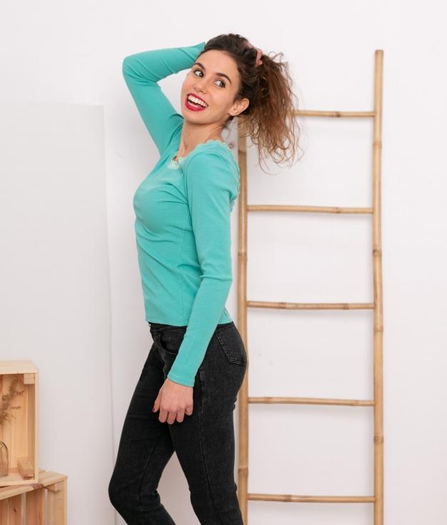 Camisetas Charo - Turquoise
