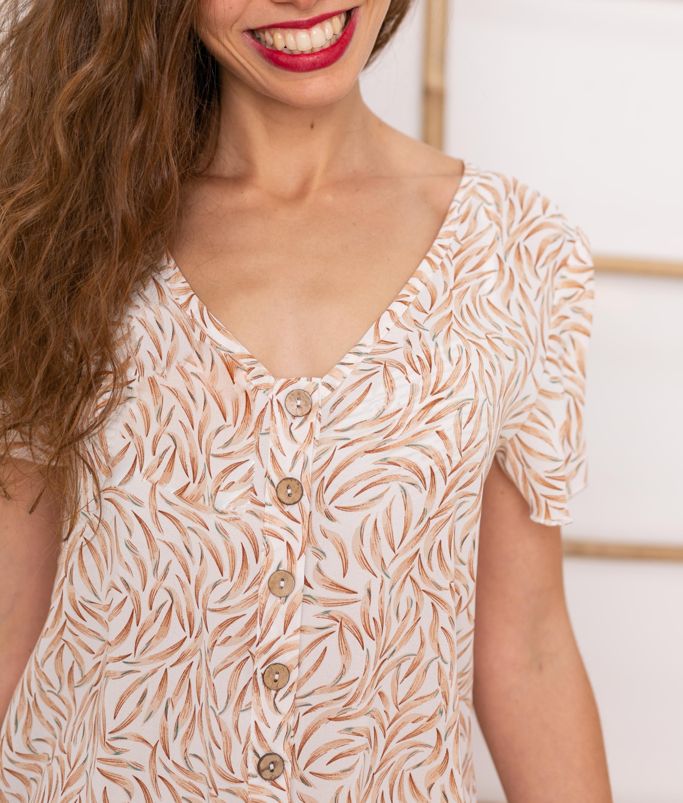 Vestido Felki - Apricot