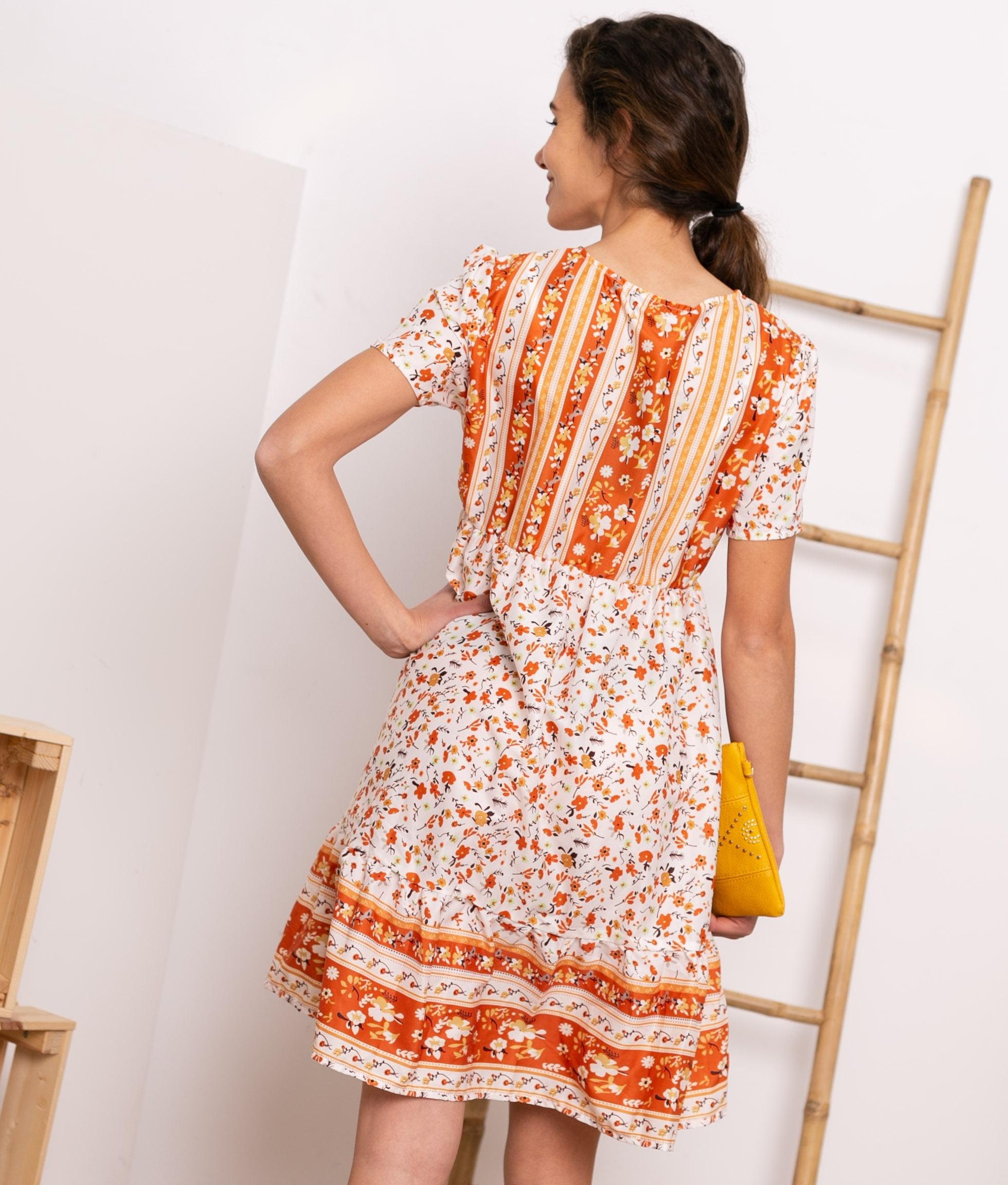 Vestido Bodel -Arancione