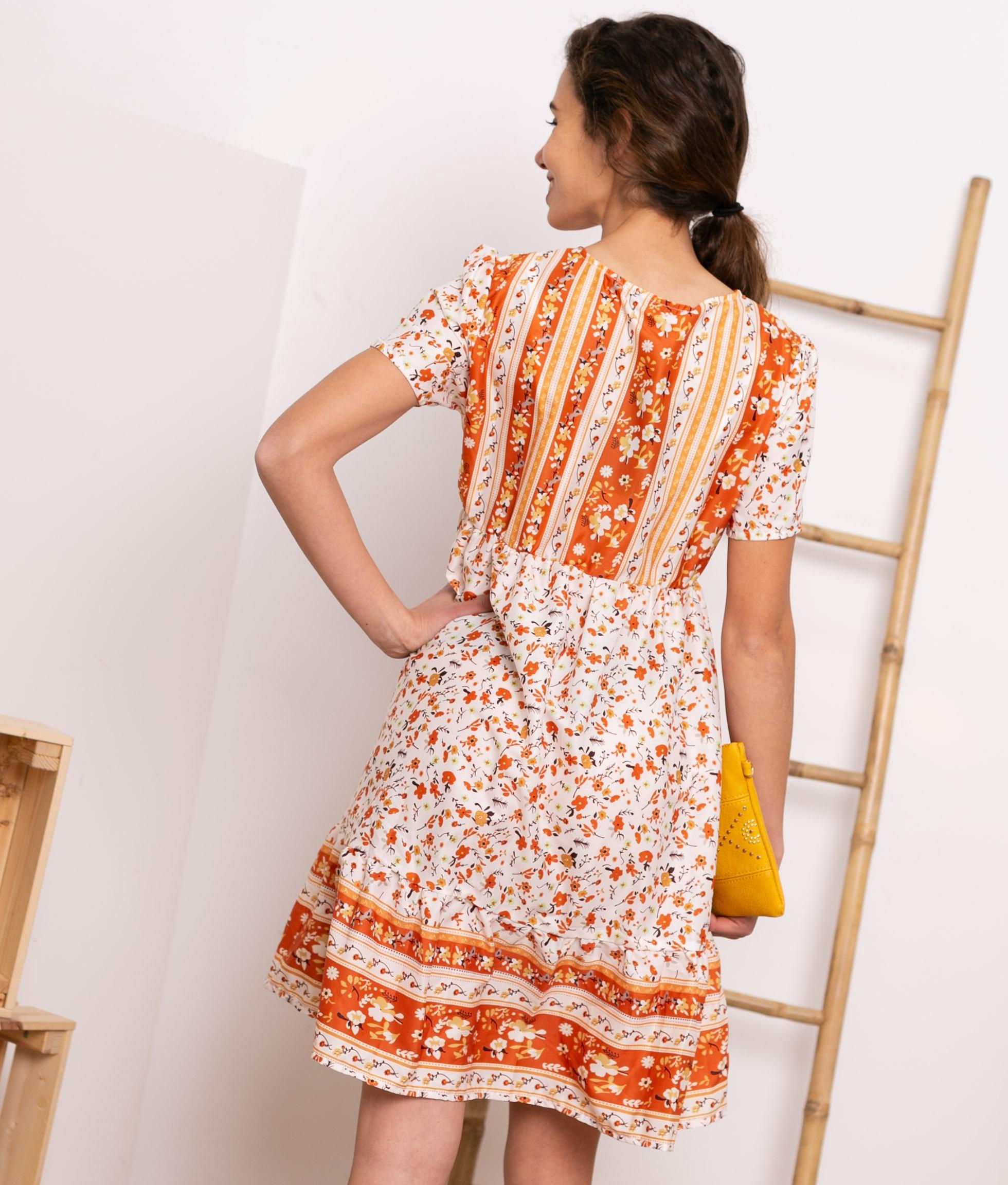 Vestido Bondel - Laranja