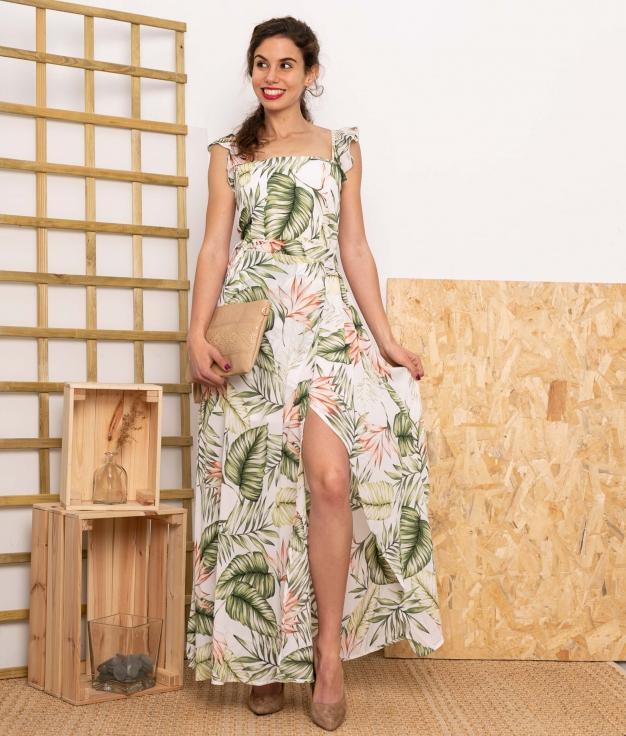 Vestido Siloga - Blanc