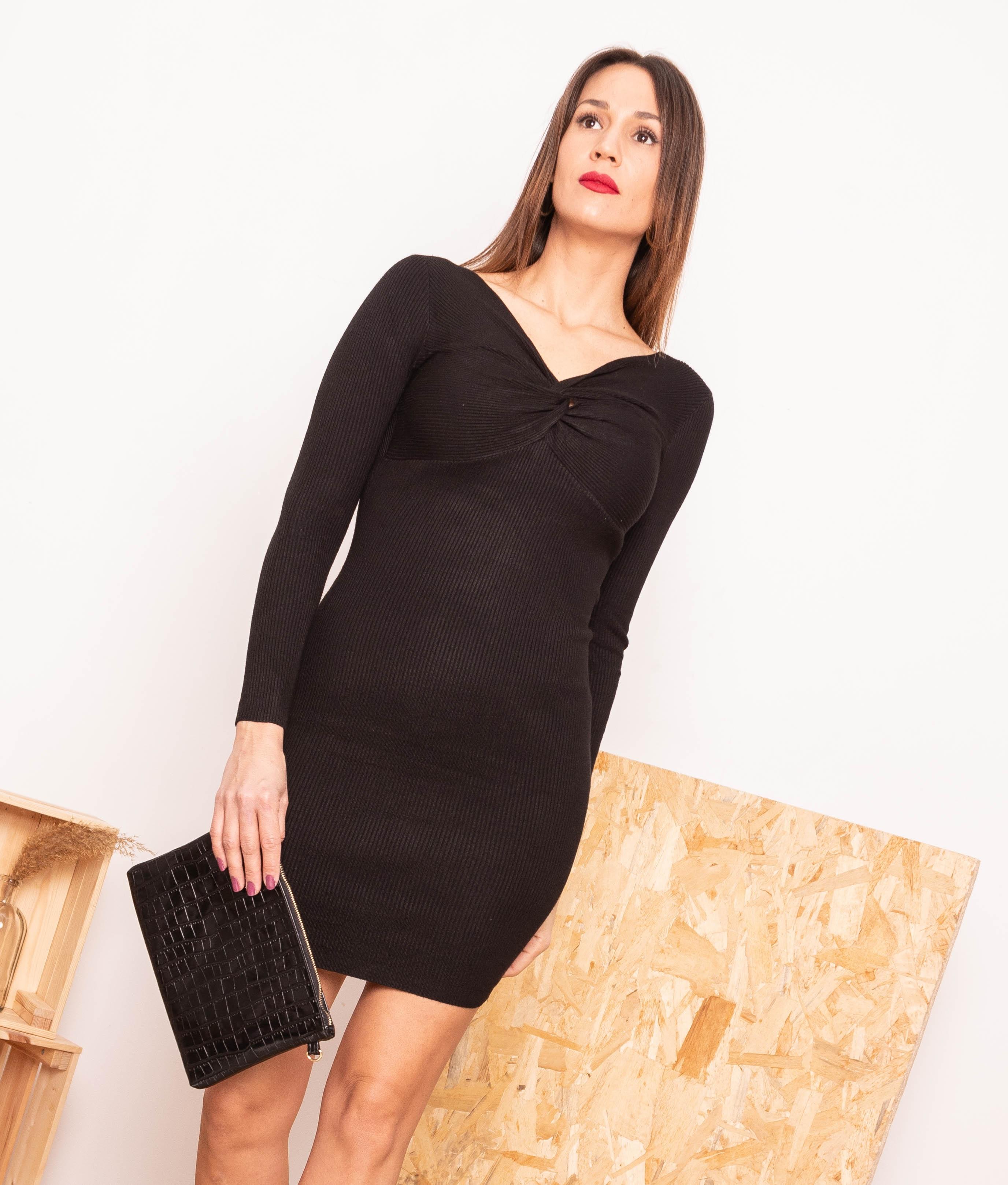 Vestido Cherry - Black