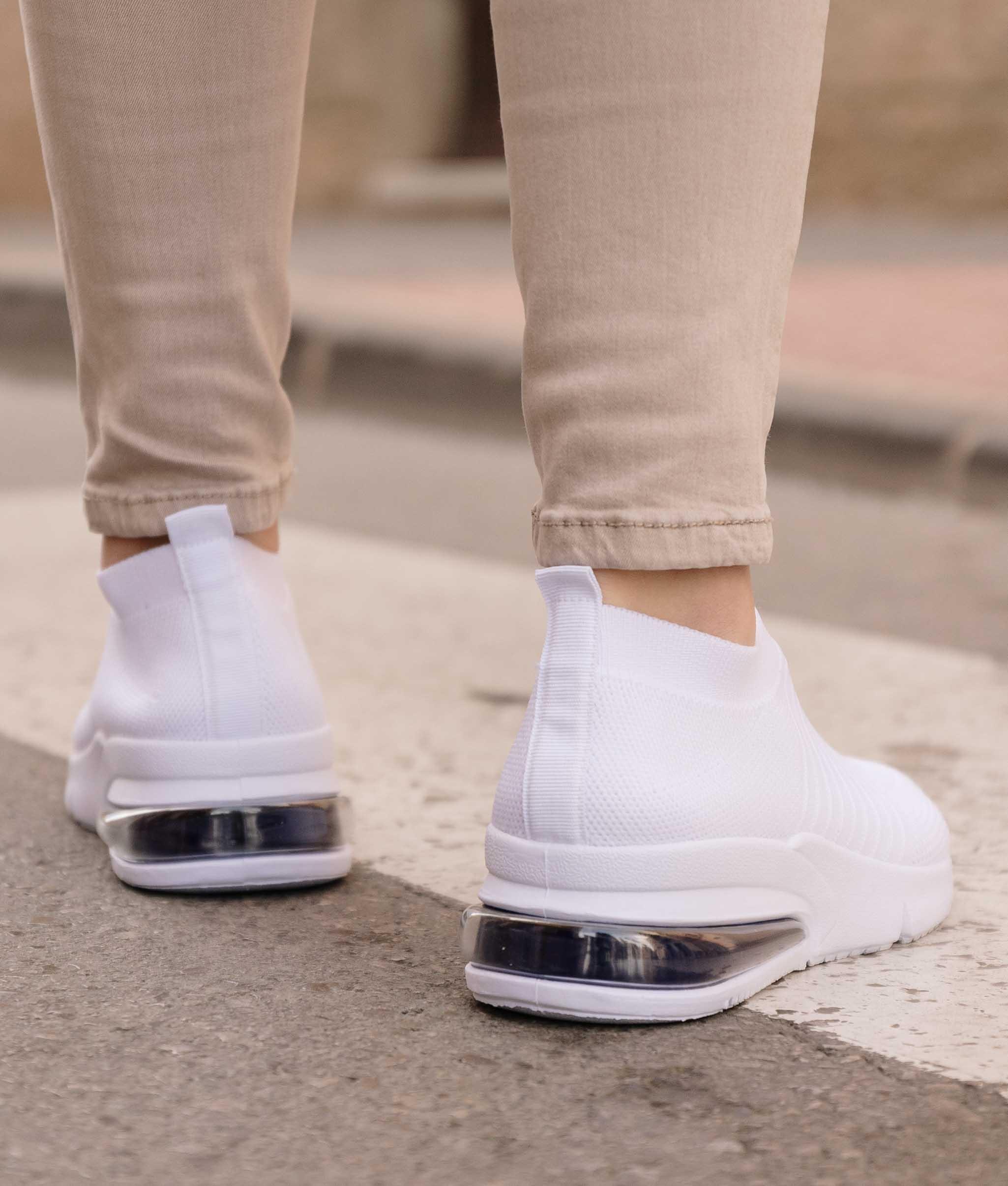 Sneakers Sunery - Bianco