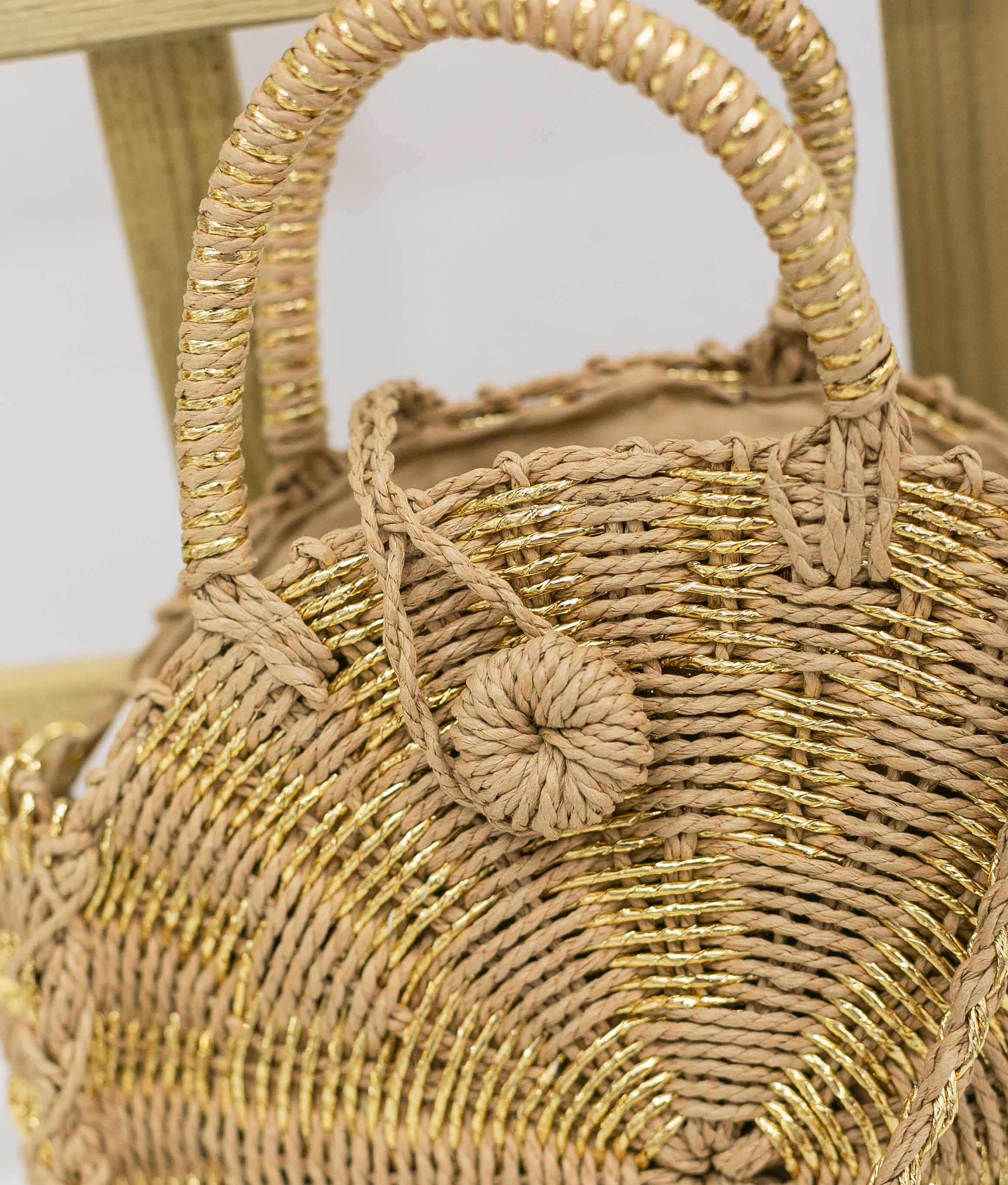 Bag Taron - Golden