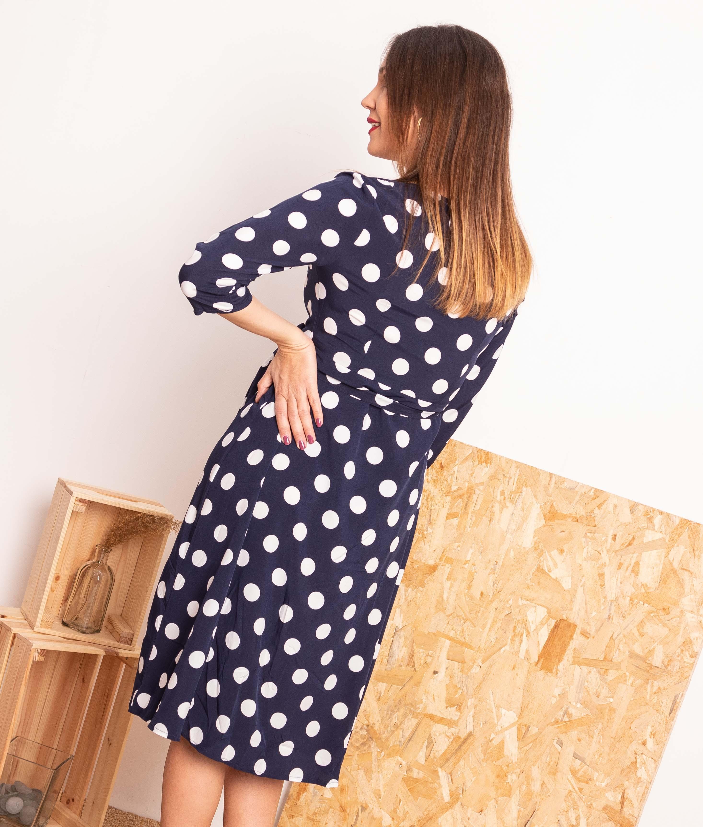 Vestido Pistel - Blu
