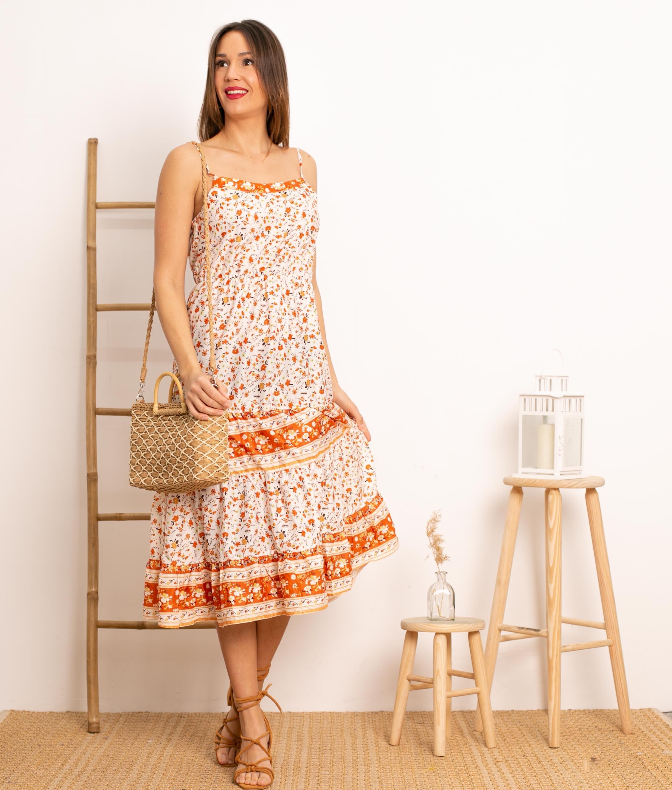 Vestido Boret - Multicolorido