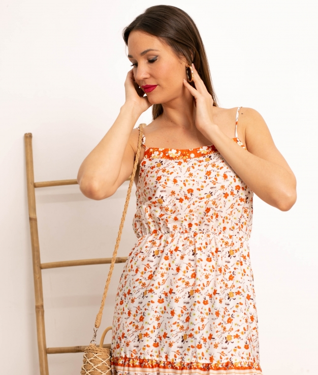 Vestido Boret - Multicolore