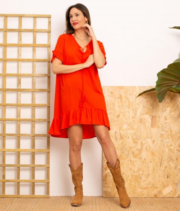 Vestido Lufy - Red