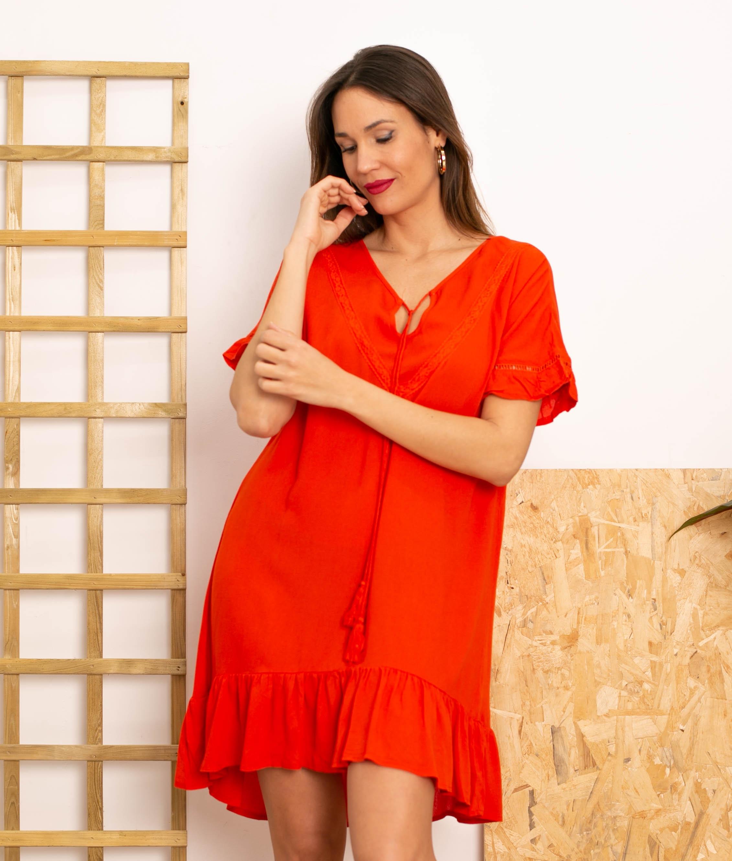 Vestido Lufy - Rouge