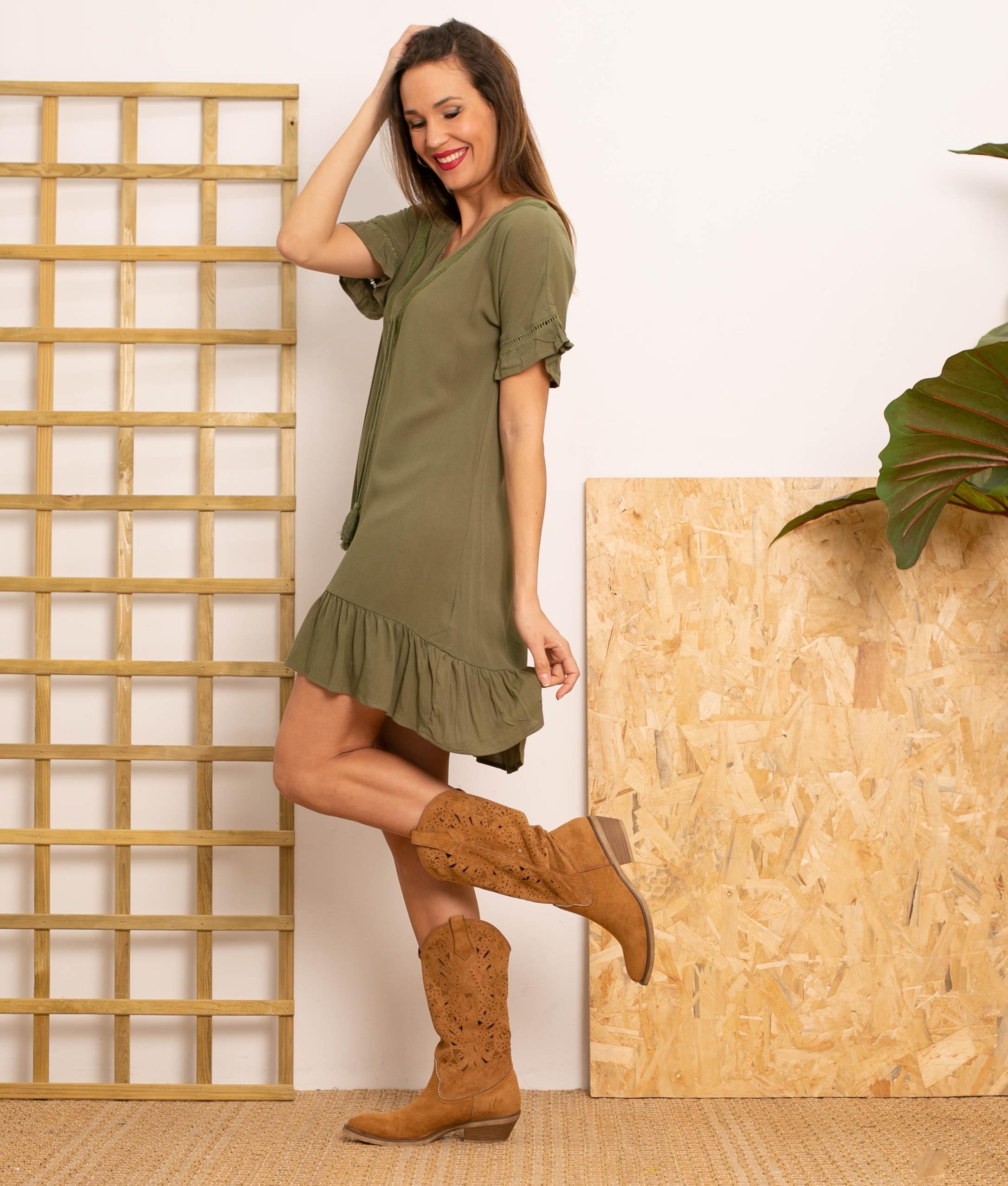 Vestido Lufy - Verde
