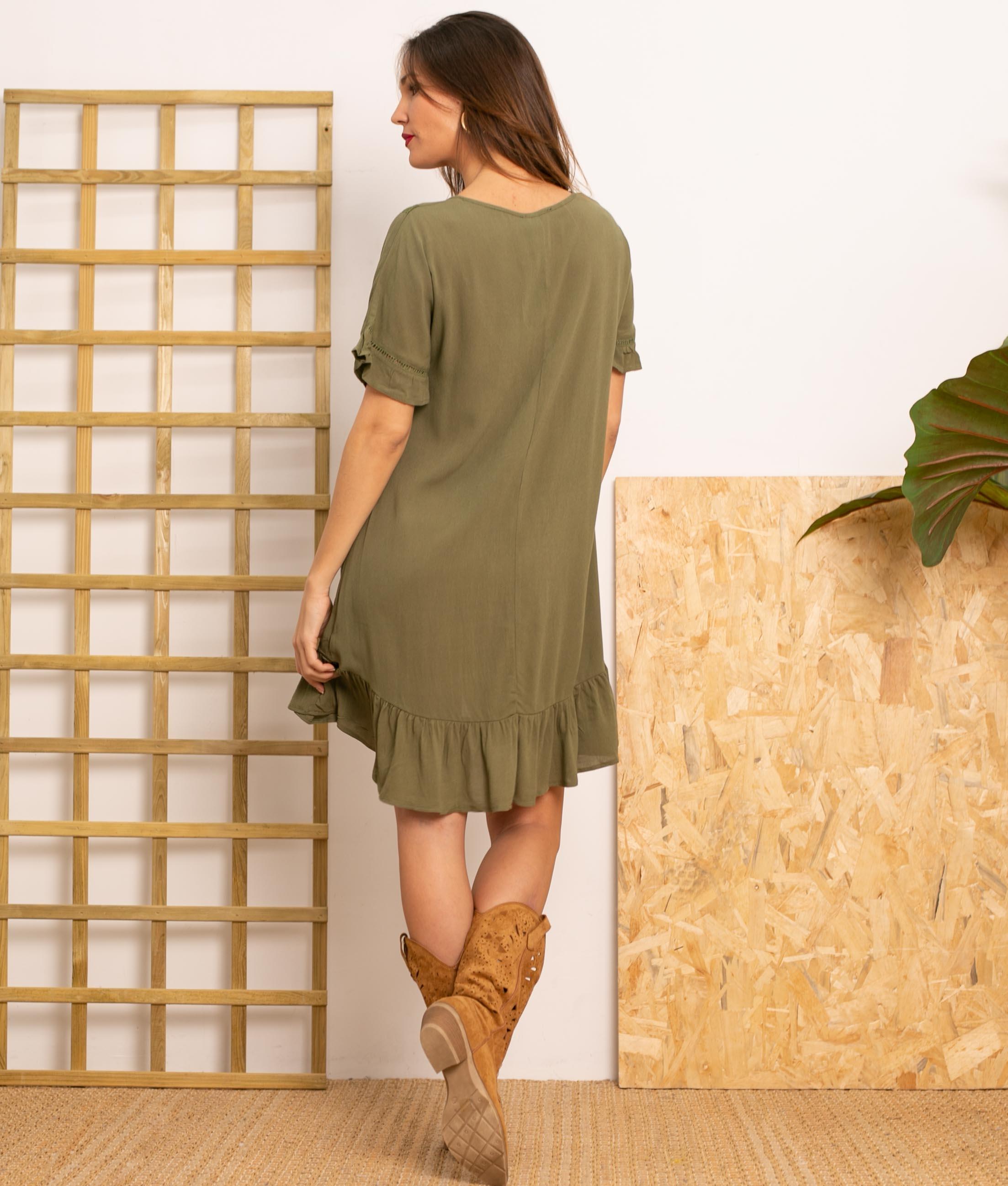 Vestido Lufy - Vert