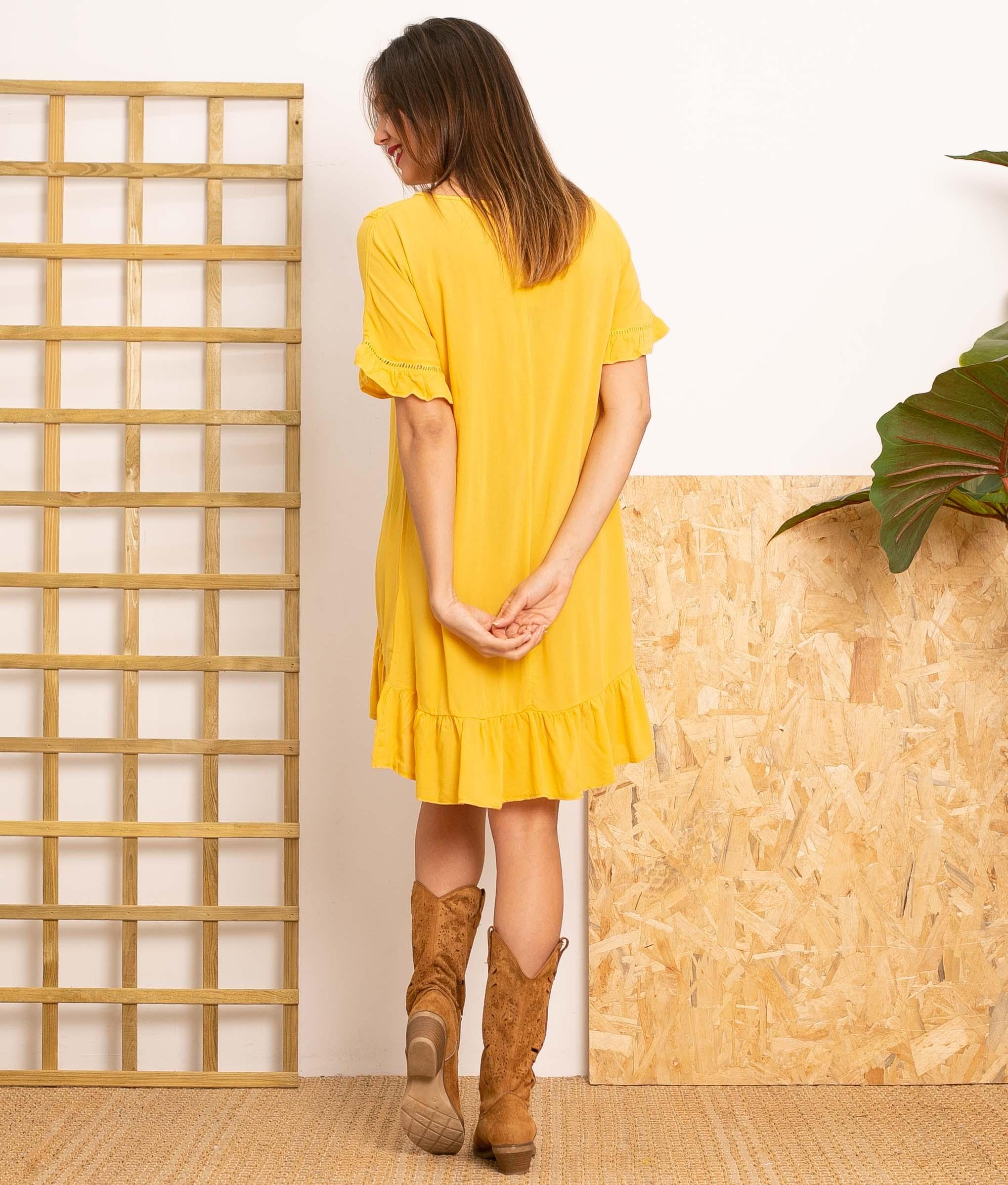 Vestido Lufy - Giallo
