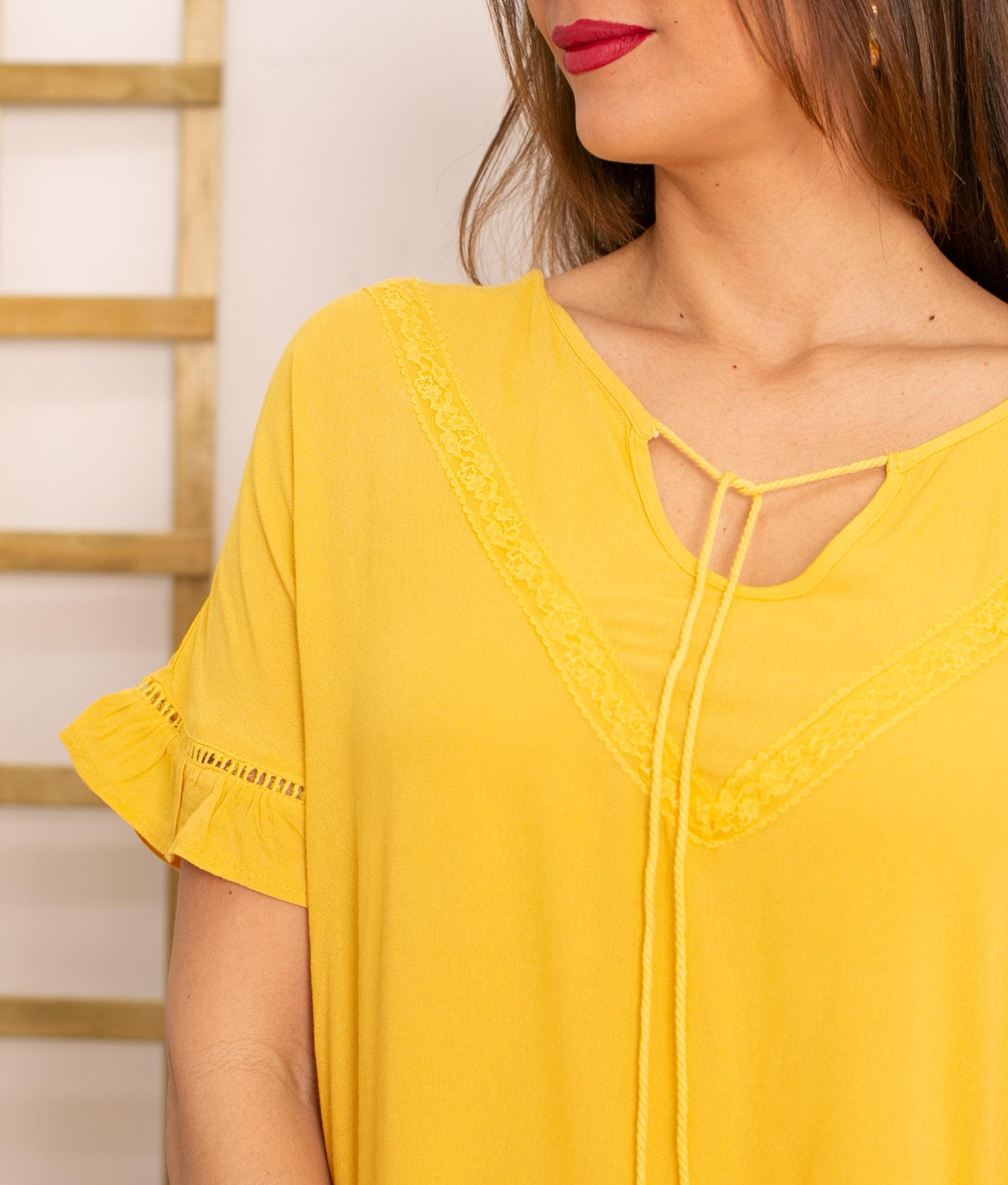 Vestido Lufy - Yellow