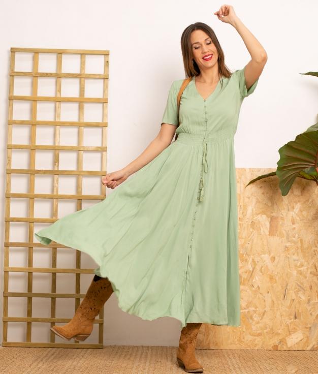 Vestido Desal - Vert